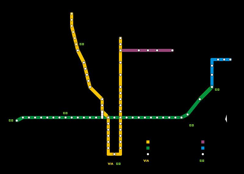 Ttc Subway Map Printable
